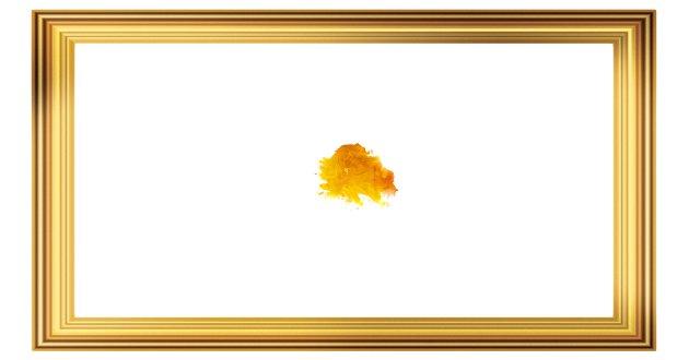 """I dag er selve kunstbegrepet kraftig utvidet, ja, så utvidet at man trygt kan hevde at «alt er kunst» - for eksempel en gul prikk på et hvitt lerret, som for eksempel kan ha fått tittelen """"Piss off"""", skriver Hallvard Birkeland. (NB: Dette er ikke et ekte kunstverk)"""