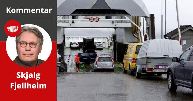 Fergeforbindelsen over Lyngen-fjorden i Nord-Norge er en av mange strekninger som har opplevde en eksplosiv vekst i billettprisene de siste årene.