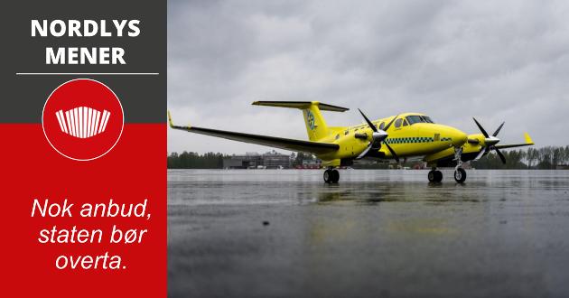 UFORSVARLIG: Statens helsetilsyn kom med en knusende rapport om luftambulansetjenesten i Nord-Norge.