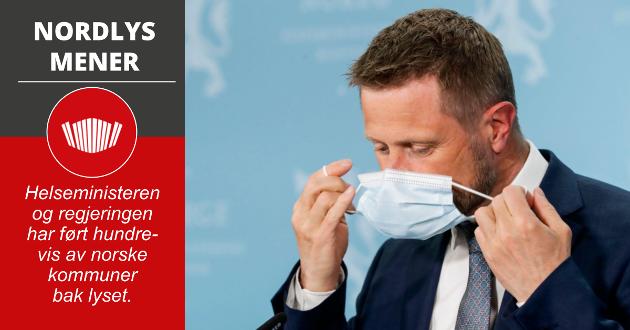 Helseminister Bent Høie sa i mai at vi måtte huske på hvor mye vaksiner Norge ville få gjennom sommeren, og at det skulle gjennomføres en geografisk omfordeling av et stadig høyere antall vaksiner til landet. Men Høie tok feil, og helseministeren og regjeringen har i realiteten ført hundrevis av norske kommuner bak lyset.