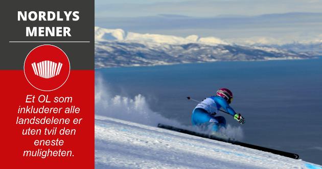 Narvik er allerede aktuell som arrangør av Alpint-VM i 2027, det betyr at infrastrukturen vil være på plass syv år seinere. En ishall i Nord-Norges største by vil breie ut den populære hockeyidretten som nasjonal idrett, og garantere for fornuftig etterbruk.