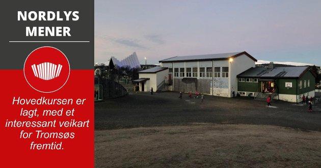Tromsø kommune vil investere i bygg og anlegg for en kostnad på 11,6 milliarder kroner de neste ti årene. Et stort løft blir ny barneskole i Tromsdalen til 750 millioner kroner.