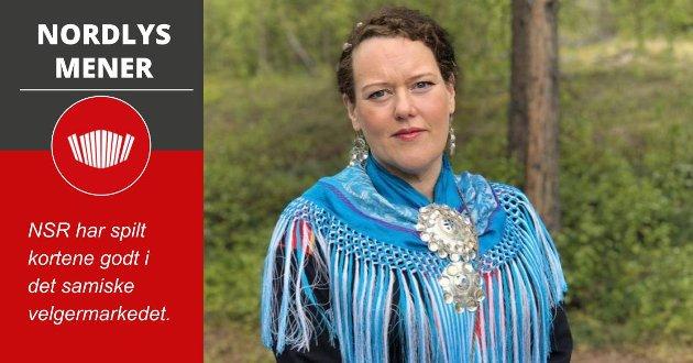 LEDER KLART: Silje Karine Muotka er NSR sin presidentkandidat ved årets sametingsvalg.
