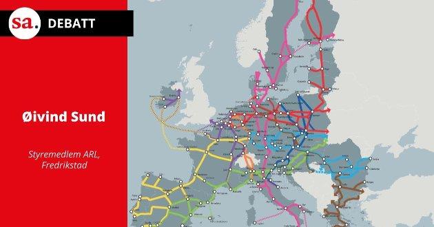 Moss Lufthavn og Skagerrakbanen vil absolutt styrke hverandre med et felles knutepunkt, mener Øivind Sund i dette innlegget.