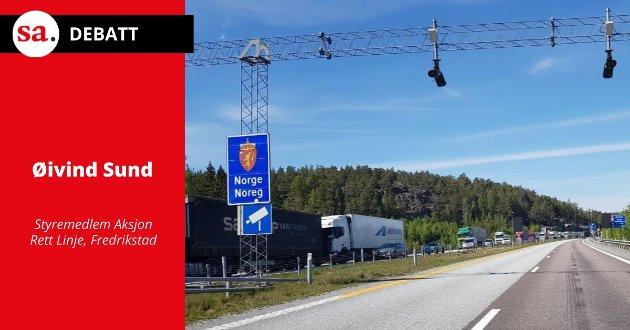 - Jeg tror fremdeles på stasjoner i sentrum av byene, men ikke med en jernbane som også skal ta ett godstog i timen hver vei, skriver Øivind Sund i dette innlegget.