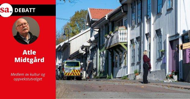 - Jeg har forståelse for at PST, politiet og « folk flest» ser på det som har skjedd i Kongsberg som en terrorhandling og er et resultat av radikalisering. Men blir det for enkelt? Spør Atle Midtgård i dette innlegget.