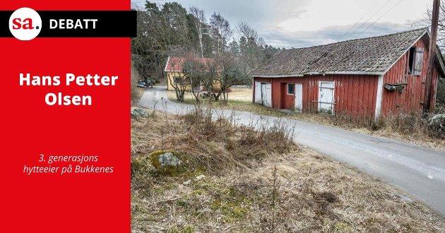 FISKARTORP: Bukkenes leirskole er et gammelt fiskartorp. Den tidligere eieren – Leif Ingolf Nilsen – testamenterte det i 1967 til Skjeberg kommune.