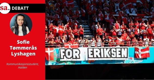 Man skulle tro at ved et så stort arrangement som fotball-EM, at det var utarbeidet retningslinjer for hvordan TV-produsentene skal opptre, skriver Sofie Tømmerås Lyshagen i denne ytringen.