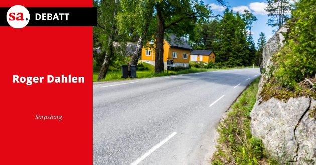 Roger Dahlen mener i dette leserbrevet at Annar Hasle har viktige argumenter for at Varteigveien er farefull for gående og sykelister.