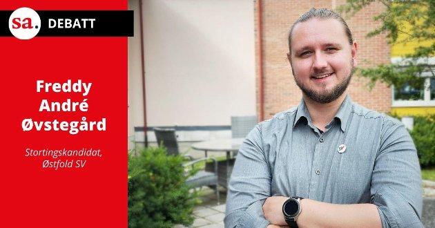 Freddy André Øvstegård: – Nå må vi gire opp, for vi har ikke tid til å vente lengre.