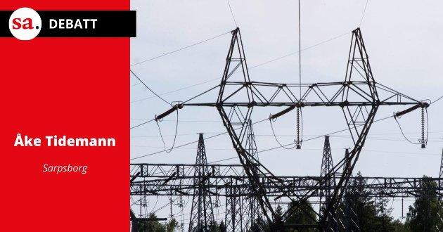 Skal vi bare godta høye strømpriser, spør Åke Tidemann i dette innlegget.