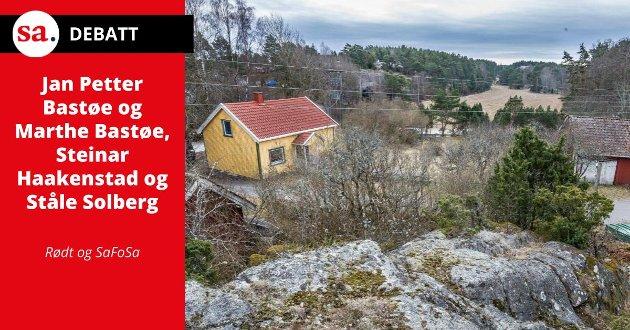 - Denne saken handler ikke lenger bare om Bukkenes, men om hvordan vi skal behandle saker i Sarpsborg kommune i sin alminnelighet, skriver representanter for Rødt og SaFoSa i dette innlegget.