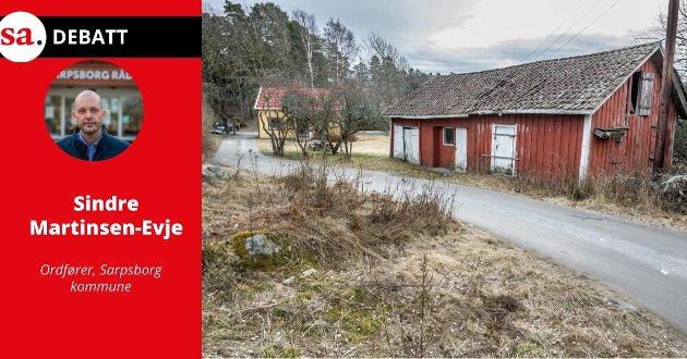 Ordfører Sindre Martinsen-Evje mener bystyrerepresentanter fra Rødt og SaFoSa har direkte feil i sitt innlegg om Bukkenes.