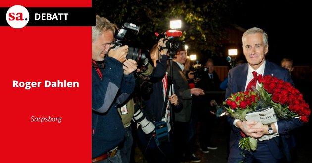 Roger Dahlen var godt fornøyd med resultatet av valget.