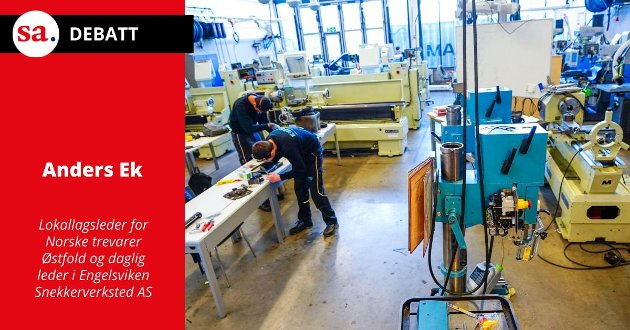 Hvis ikke takten på rekrutteringen og kvaliteten på yrkesfag øker, vil Norge mangle opp mot 100000 fagarbeidere innen 2035, skriver Anders Ek i dette innlegget. Illustrasjonsfoto.