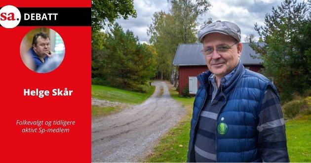 Helge Skår mener det blir feil på framstille det som om Arnstein Koch-Engebretsen nærmest ufrivillig ble nødt til å overta ledervervet i Sp Sarpsborg.