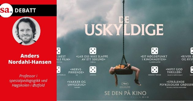 Debatten rundt ulike autistiske karakterframstillinger har i hvert fall endelig fått et norsk bidrag gjennom filmen De uskyldige, skriver Anders Nordahl-Hansen i dette innlegget.