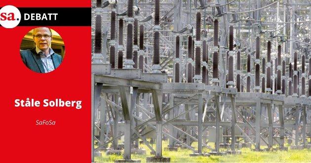 Ståle Solberg mener at det blir et paradoks at Nordlink og andre overføringskabler kan bidra til at strømprisen blir lavere for norske forbrukere enn hva den ellers ville blitt.