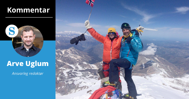 MOT: Det krev mot å klatra opp på Elbrus, men det er ikkje det modigaste Hilde Gunn Bjelde har gjort.