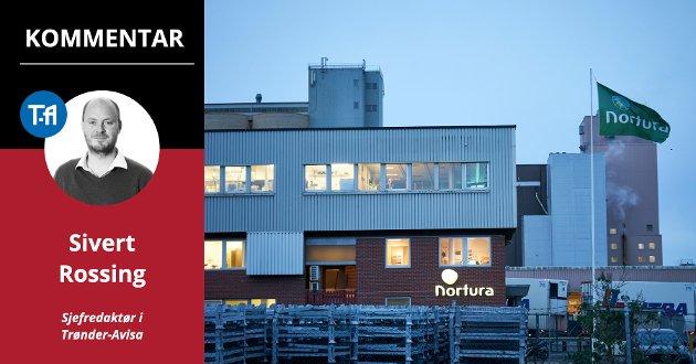 Dette er ikke dagen for å unnskylde Nortura, men det er et poeng at man også erkjenner skvisen selskapet står i - mellom bønder som vil tjene mer, forbrukere som vil betale mindre, og i et marked hvor kjøttvanene våre endres kraftig, skriver Sivert Rossing, sjefredaktør i Trønder-Avisa.