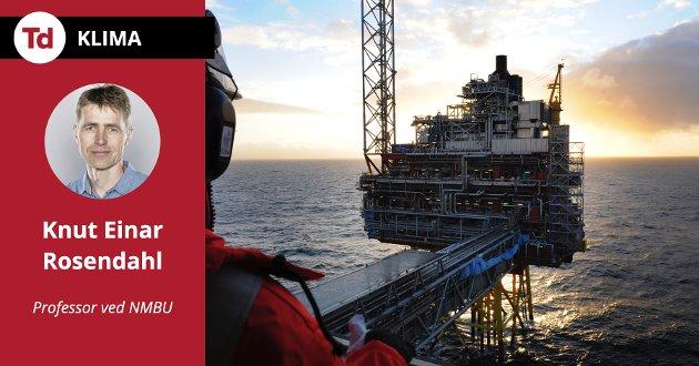 Det er ikke lønnsomt for OPEC å justere sin produksjon slik at global produksjon forblir upåvirket av norsk utvinning - spesielt ikke på lang sikt, skriver professor Knut Einar Rosendahl ved Handelshøyskolen, NMBU.