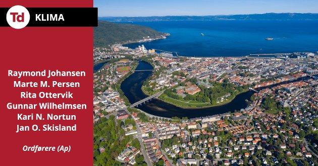 Skal vi lykkes, trenger vi Arbeiderpartiet i regjering for å hjelpe oss med å kutte utslipp og skape jobber. Store ord alene løser ikke klimakrisa, skriver Ap-ordførerne i Oslo, Bergen, Trondheim, Tromsø, Stavanger og Kristiansand.