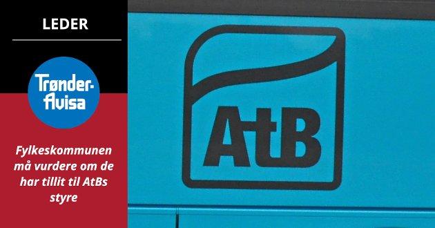 AtB har lært seg til at selskapets eier ikke følger opp egen politikk. Derfor tar man åpenbart for gitt at man vil slippe unna – også denne gang, skriver Trønder-Avisa på lederplass.