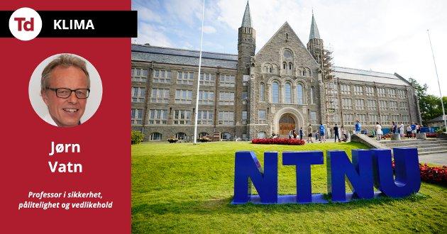 Jeg er fortsatt stolt av å være ansatt på NTNU hvor vi fremskaffe kunnskap for en bedre verden, og jeg vil bidra til at vi kan forvalte ressursene på norsk sokkel på en bærekraftig måte i et langsiktig perspektiv, skriver Jørn Vatn, professor i sikkerhet, pålitelighet og vedlikehold ved NTNU.
