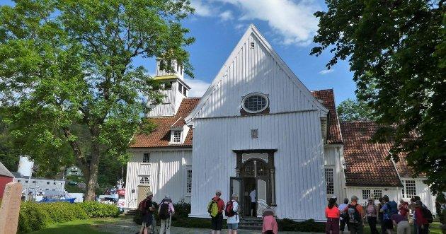 Egersund kirke eksteriør