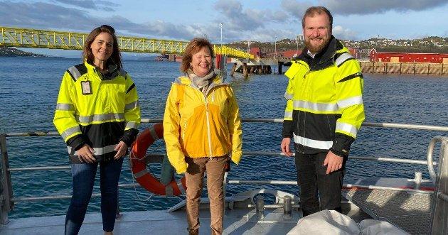 Trine, Siv og Wilfred, 3 stødige Senterpartikandidater til Nordlandsbenken på Stortinget
