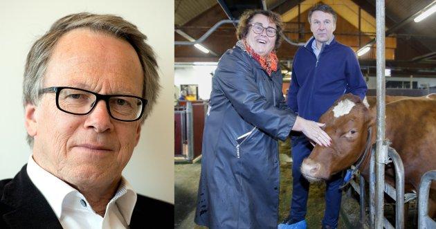 ØYEÅPNER?: Bondelagets leder Lars Petter Bartnes lar landbruks- og matminister Olaug Bollestad (KrF) og Regjeringen være i fred i debatten om billig soya og billig arbeidskraft. Det er trist for alle, særlig de som måtte være opptatt av distriktsjordbrukets framtid.