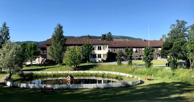 115 ÅR: Granheim lungesykehus ble etablert i 1905. Nå er tida snart ute.