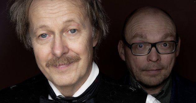Lars Lillo-Stenberg og Jens Christian Bugge Wesseltoft - hvilket stjernemøte!