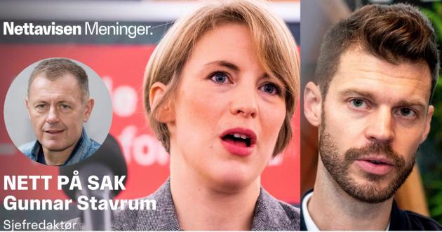 RØDT I SENTRUM: I Oslo stemmer fire av ti velgere i bydelene i sentrum på Rødts Bjørnar Moxnes, SVs Kari Elisabeth Kaski eller MDGs Lan Marie Berg.