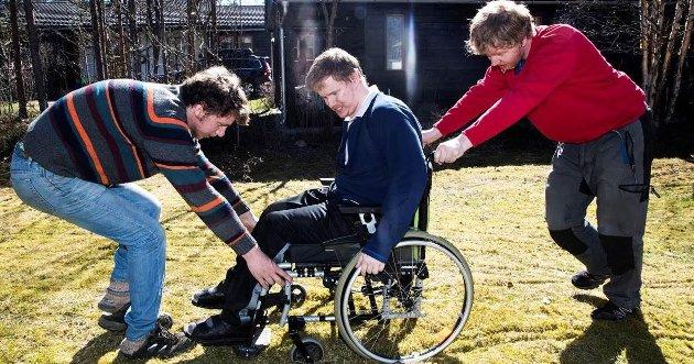 Tre Brødre: Holøyen-brødrene i Tolga er blitt feilaktig diagnostisert som psykisk utviklingshemmet.Foto: VG
