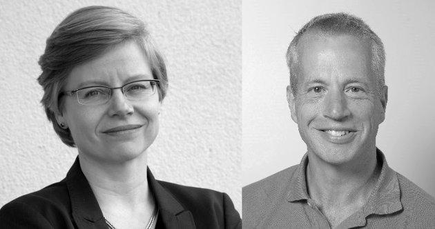 Hanne Mette Dyrlie Kristensen, CEO The Life Science Cluster og Carl Henrik Gørbitz, direktør UiO: Livsvitenskap