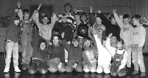 2. klasse på Refsnes skole, 1992.