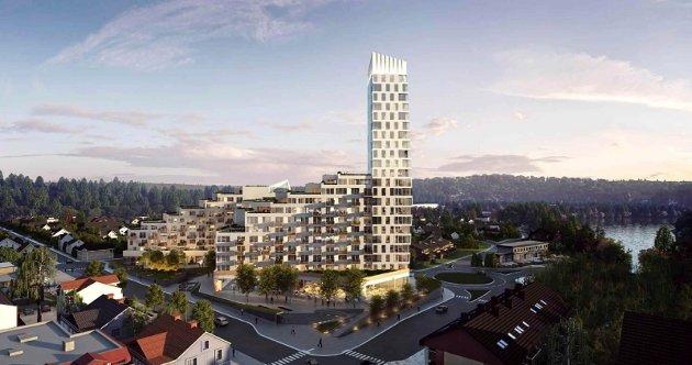 Tronrud Eiendom kjøpte nylig Byporten-prosjektet.