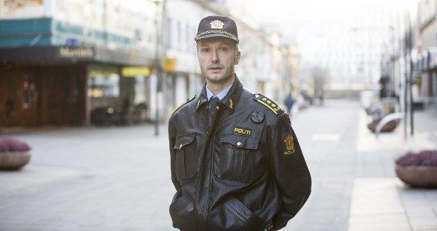 BEKYMRET:  Bråk, vold og ordensforstyrrelser øker når 18-åringene inntar utelivet i Lillestrøm, ifølge politistasjonssjef Trond Øren. Foto: Tom Gustavsen