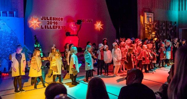 For femte år på rad arrangerte Lillefryd på Sjøskogen SFO sitt juleshow. Lillefrydkoret sang og barna satt opp sine egne underholdningsinnslag, til stor applaus fra de frammøtte, som fikk oppleve julesespill, fellesdans, kor, catwalk og besøk av selveste julenissen. SFO-leder på Sjøskogen, Mustafa Kroop, hadde fått med seg 7. klassinger som hjelp til med lys og lyd. Til sammen er det solgt 600 billetter til de to forestillingene 7. og 8. desember.