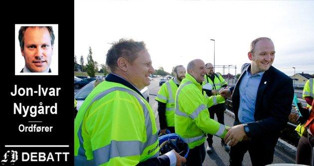 DEBATT: Jon-Ivar Nygård er ikke veldig imponert over samferdselsminster Dales håndtering av utbyggingsplanene for jernbanebyggingen i Østfold.