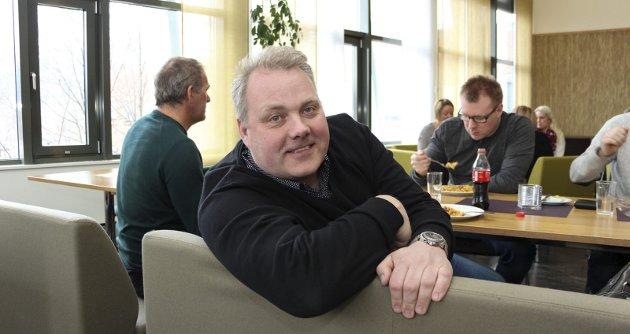 EIENDOMSSKATT: Bjørn Larsen og Vefsn Fremskrittsparti ble alene om å stemme for et forslag om å sette i gang en prosess for å se på muligheter til å redusere og fjerne eiendomsskatten snarest mulig.Foto: Rune Pedersen