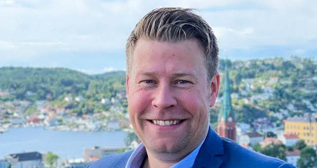 Elnar Remi Holmen, administrerende direktør i Bodøregionens Utviklingsselskap.