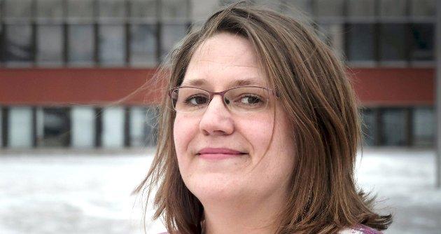 Liss-Hege Bjørnø leder i Utdanningsforbundet Rana.