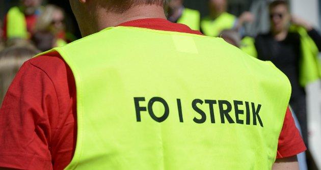 TRAPPA OPP: FO og Fagforbundet brøt i helgen forhandlingene med NHO Service og handel.