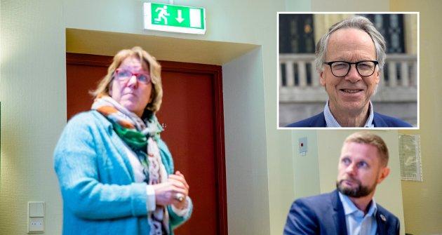 NY RUNDE: Adm.dir. Alice Beate Andersgaard i Sykehuset Innlandet skal få bygge nytt sykehus i Moelv, sier helse- og omsorgsminister Bent Høie. En rekke faktorer kan bidra til å endre dette styringssignalet, skriver Hallvard Grotli.