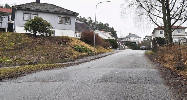 ØNSKET OG HATET: Det vekker engasjement når nye fartshumper lages i Halden. Småbarnsforeldre jubler mens taxisjåfører, bussjåfører og en rekke bilister protesterer. På dette bildet er en av de relativt nye fartshumpene i Løkkeveien på Holmseløkka.