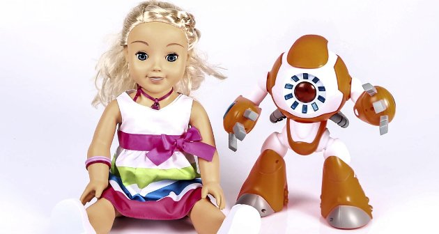 POPULÆRE: – De populære lekene Cayla og I-Que. Forbrukerrådets gjennomgang av brukervilkårene er ikke barfe nedslående.- De er skremmende, skriver David Aleksandersen.