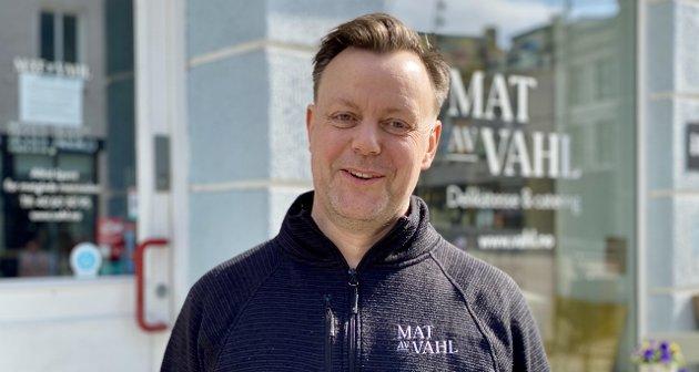 MÅ SETTE HÅRETE MÅL: Håkon Vahl mener at målet for nedgangen i sykefraværet burde minst ligge på nasjonalt nivå