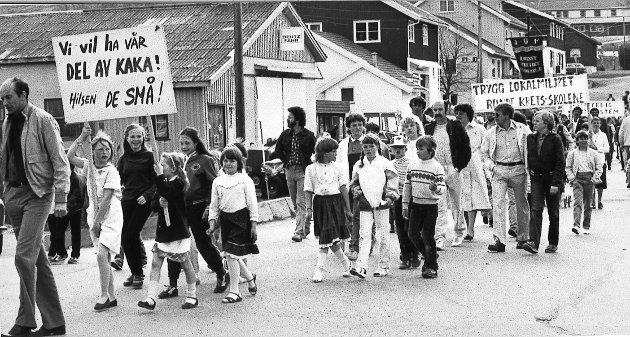 1984: 1. mai-feiring på Roa.